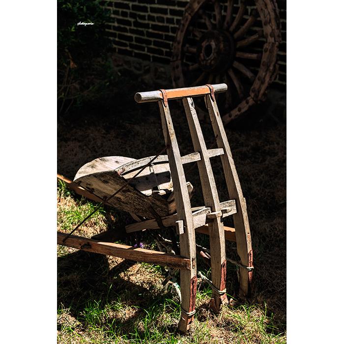 >旧式农具耧车 05gl00003图片